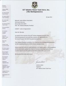 Borinqueneers Letter